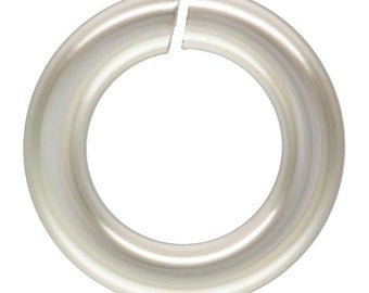 Sterling Silver 18ga 5mm Open Jump Rings  - 20pcs (4520) 15% discounted Made in USA