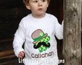 Cute Boys Mr. Clover St. Patrick's Day Shirt