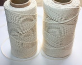 Elegant Cotton Thread - by Yards - Natural COTTON TWISTED CORD