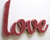 Love Sign - Wood Love - Wooden Love
