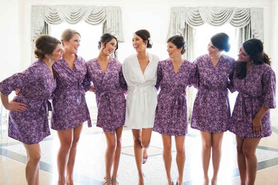 bridesmaid robes bridesmaid pajamas bridal robe bridesmaids robes