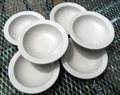 6 Boonton Grey Melmac Melamine Bowls