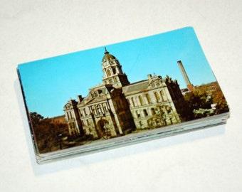 50 Vintage Indiana Chrome Postcards Blank - Wedding Guestbook
