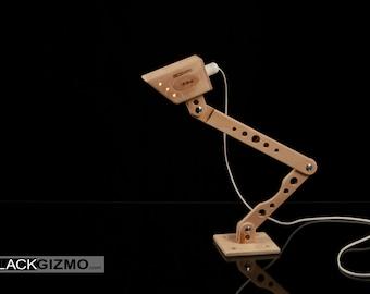 Wooden Design Desk Lamp DL019 by BlackGizmo