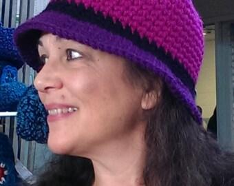 CROCHET PATTERN: Bucket Hat - a bucket hat pattern for women and girls - Instant Download