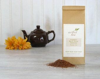 Organic Earl Grey Rooibos Tea • 8 oz. Kraft Bag • Luxury Loose Leaf Herbal Blend