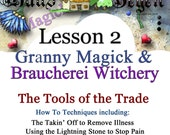 Lesson Two Granny Magick Braucherei Witchery The Art of Whisper Magick Digital Download