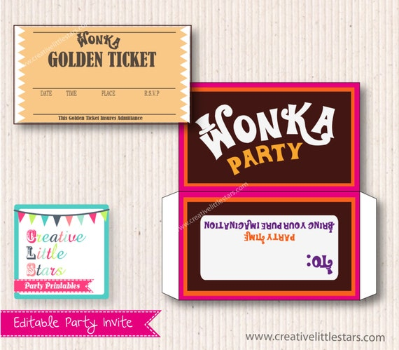 il 570xN.485126699 g1a3 Top Result 60 Unique Willy Wonka Invitations Templates