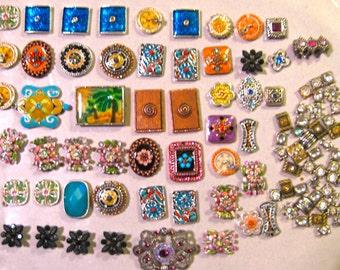 Take 20% Off 100 PLUS Fancy Flat Enamel Jewelry Charms & Connectors