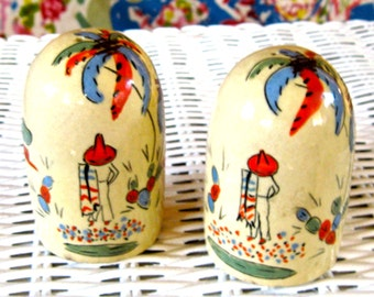 Take 20% OFF Vintage Mexican Dome Pair Shakers