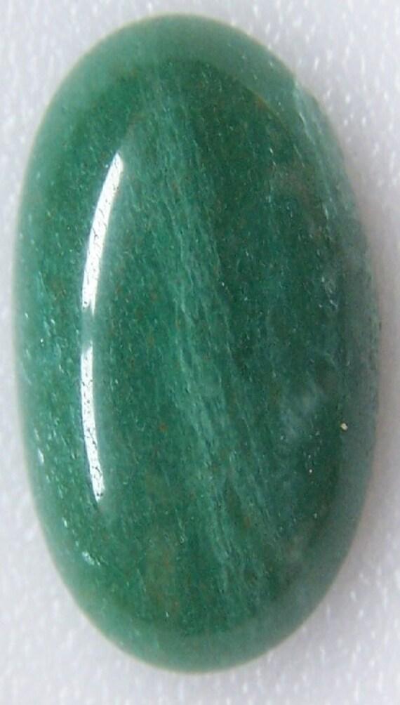 Green Muscovite Mica : Fuchsite green muscovite mica cabochon