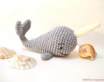 Crochet Whale Etsy