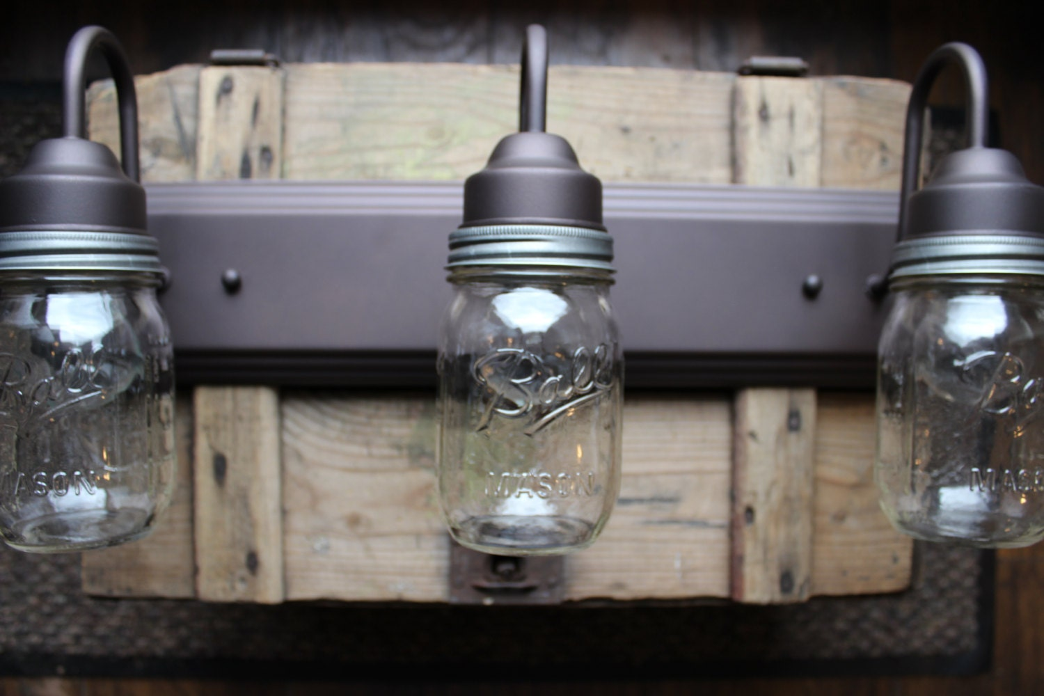 Vanity Lights Mason Jars : Unavailable Listing on Etsy