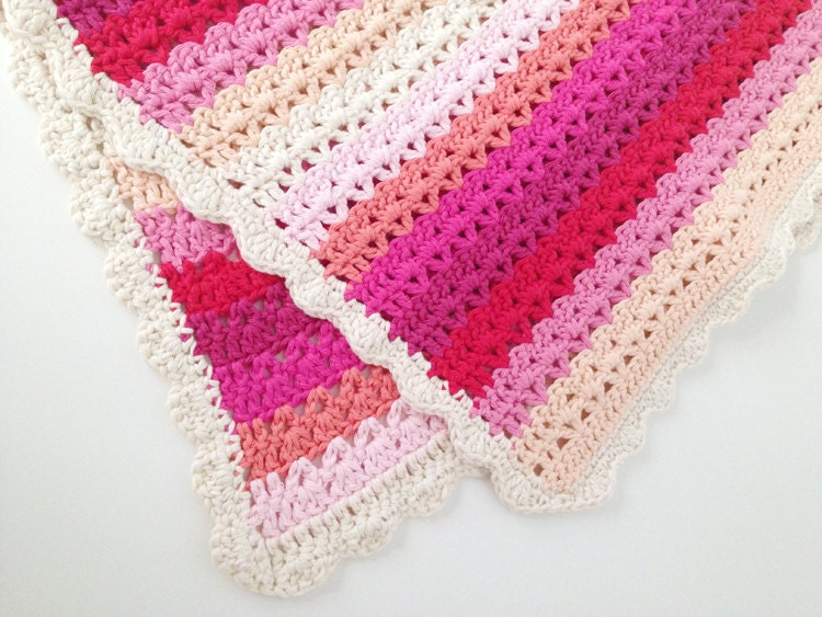 Crochet Baby Blanket Pattern Instant Download