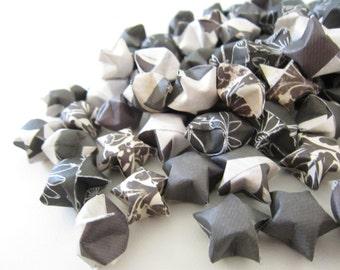 SALE 120 Black and White Origami Stars