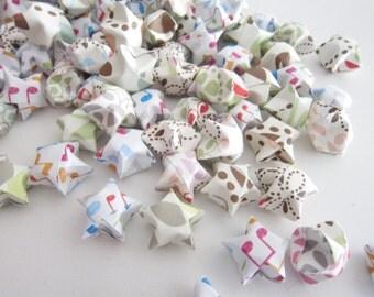 LAST SET SALE 200 Musical Pastel Rainbow Origami Stars