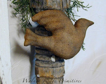 E-pattern Instant Download Dove Ornaments  Sewing Pattern - by Walnut Ridge Primitives