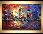 original painting abstract painting landscape painting from jolina anthony fast and free shipping
