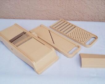 Dial Mandoline Slicer Set.