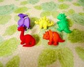 Dinosaur Thumbtack, Dinosaur Push Pin, Dinosaur Notice Board Pins, Prehistoric