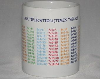 Multiplication (Times Table) Mug