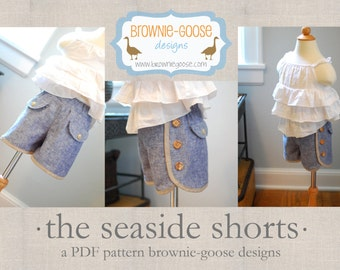 BG Originals Seaside Shorts pdf pattern