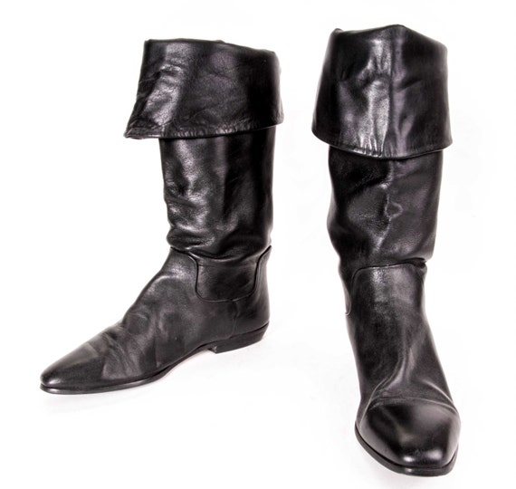 Elegant Womens Sexy Buckle Pirate Boots  Sexy Womens Pirate Costume