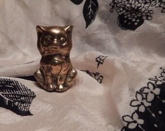 Little Brass Kitten