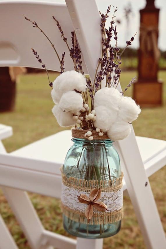 Items Similar To Mason Jar Wedding Decorations Hanging
