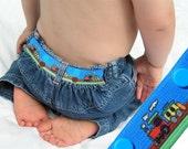 "Kids Belt - Elastic Snap Belt - ""Train"""