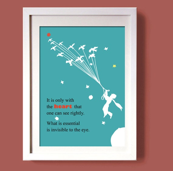 Little prince digital printwall art decor digital file art Decoration le petit prince