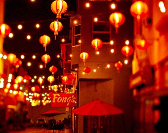 Chinese Lanterns Photography, Los Angeles Photography, California, Chinatown photo