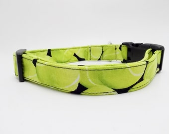 Tennis Ball Dog Collar and Leash, Tennis Ball Collar, Tennis Ball Dog, Tennis Balls, Cool Dog Collar, Golden Retriever Collar