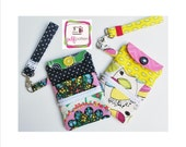 pdf Cell Phone Wristlet Sewing Pattern - INSTANT DOWNLOAD!!!