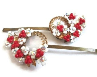 Fashion Hairpins Vintage Jewelry Hair Wedding Clip Set Accessories Hairpiece