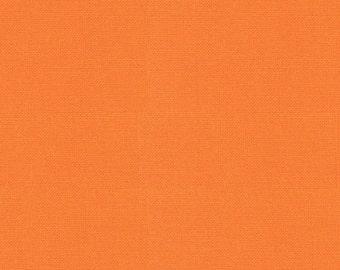 SALE Bella Solids Retro Orange Yardage 9900 80 Moda Basics