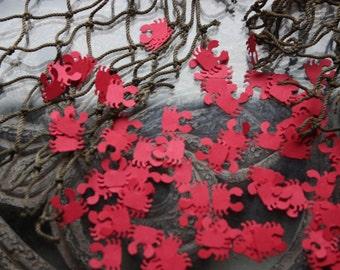200 Crab Confetti/Nautica/Scrapbooking Embellishments