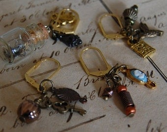 The Apothecary's Steampunk CROCHET Stitch Markers