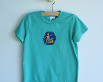 Ocean Pirate Boys TShirt - Sizes 2T and 6-See Available Patches
