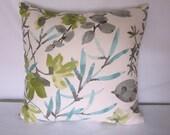 Gazebo Cloud Pillow Cover in Braemore Fabric