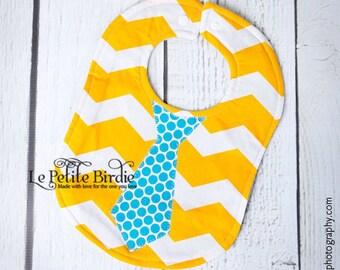 Tie Boy Baby Bib Babyshower Gift Birthday Party