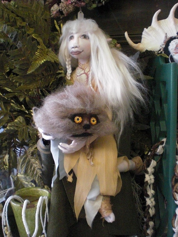 Kira The Gelfling Doll With Fizzgig