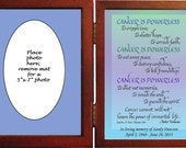 Memorial Gift-personalized in hinged frame. Assorted Sentiments  Beautiful gift to remember a loved one-page 2