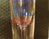 Rock Chalk Jayhawk wine tumbler to go cup. You must  have this!