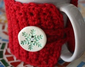 RESERVED  for MANDY. Set  of two mug cozies