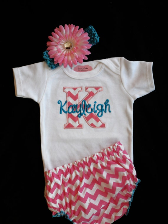 Items similar to Personalized Baby Girl Clothes Newborn ...