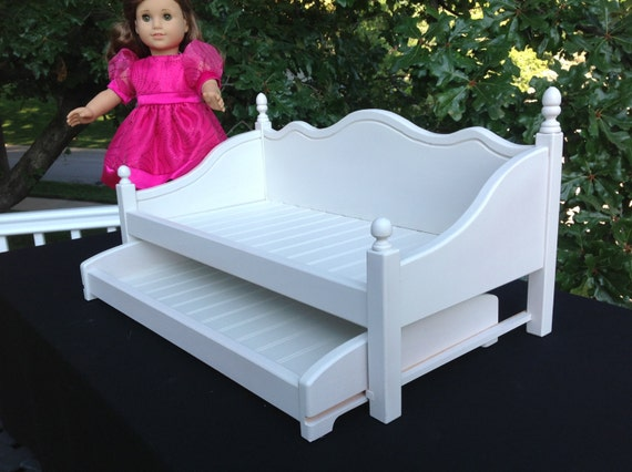 American Girl Doll:  Furniture, daybed with trundle
