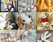 A whole lot of Pixie - doll and clothes patterns  - all in one lot! PLUS an extra bonus pattern!