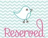 Reserved For Karen Wann