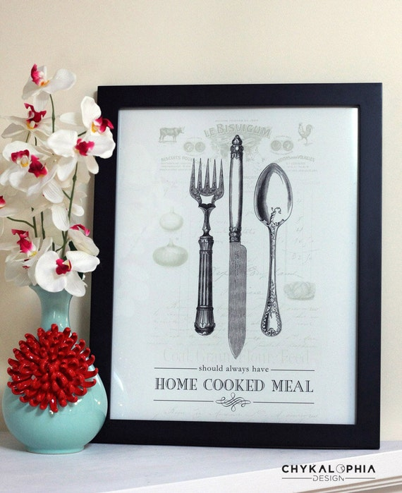 Home Cooked Meal Poster